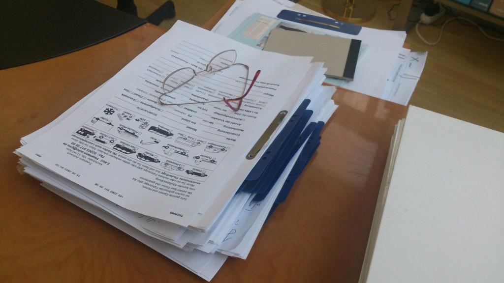Unterlagen