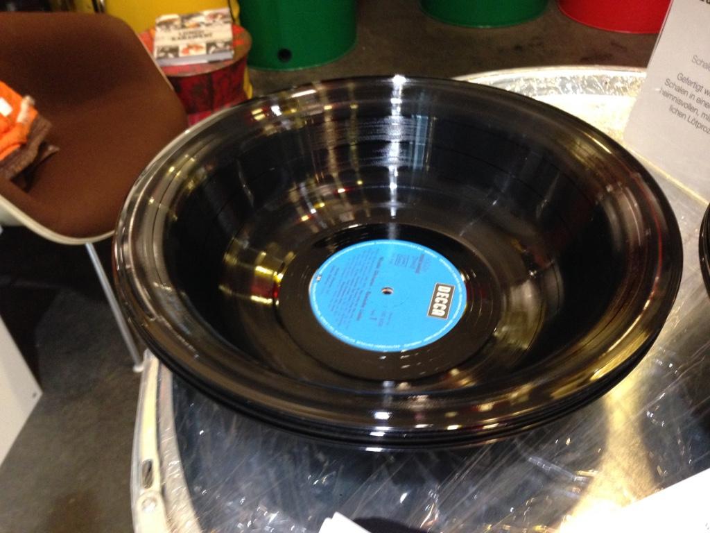 Vinyl-Schüssel